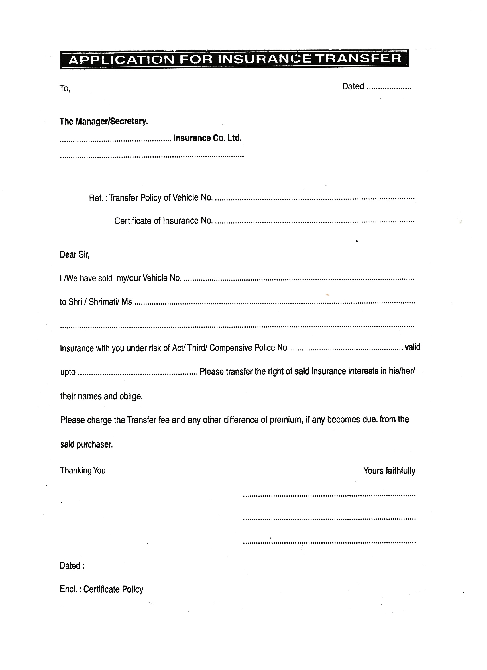 Documents Needed For Bank Car Loan