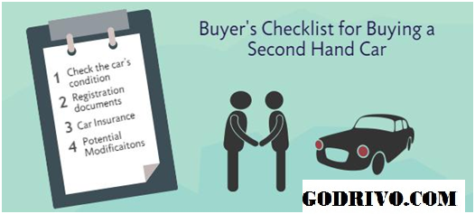 Used Car Checklist For Buyer